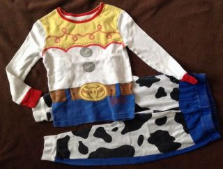 4 4T Toy Story Jessie Costume 2 PC Pajamas Snug Fit PJ Girls Cowgir