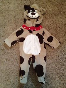 Carter's Baby Dog Puppy Fleece Halloween Costume Size 3 Months Worn Once