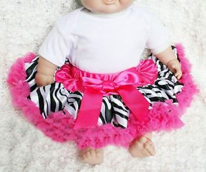 Baby Girls Zebra Print Princess Ballet Dance Costume Tutu Dress Skirt U Pick