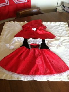 Little Red Riding Hood Halloween Dress Up Infant Baby Toddler Costume