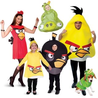 New Official Rovio Angry Birds Licensed Costume Baby Toddler Child Adult Pet