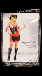 Sexy Rogue Pirate Costume Lady Women's Female Halloween