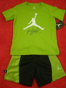 New Nike Jordan Jumpman 2T Baby Toddler Kids Boy Outfit Clothes T Shirt Short