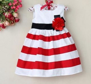 NTW Baby Girls Floral Tutu Dress Kids Princess Tripled Skirt Clothing 1 6Y Free