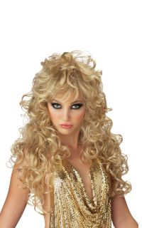 Hot Sexy Seduction Halloween Costume Wig Blonde 70426
