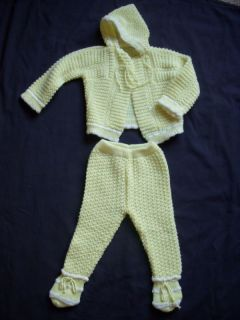 Reborn Baby Girl Boy Crochet Sweaters Booties Outfits U Pick