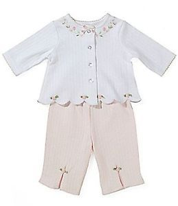 Starting Out Layette Preemie Take Me Home Set Baby Girls Clothes New White Pink