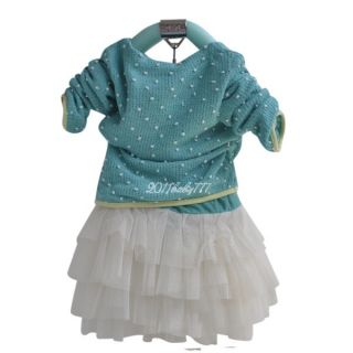 Baby Girls Kids Swan Dress Top and Chiffon Skirt Tutu Costume Outfit Clothes