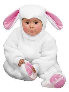 Little Lamb Sheep Farm Animal Cute Dress Up Halloween Baby Infant Child Costume