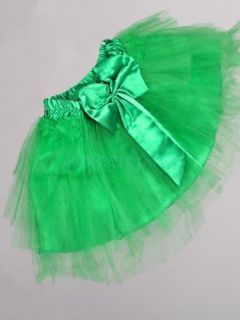 Girls Ballet Tutu Dance Party Dress Skirt 4 Layers 2 3T