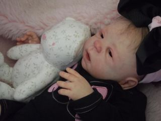 Reborn Baby Girl Doll Eden Sheila Michael Cutest Halloween Costume Just in Time