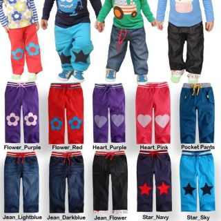 "VaenaitBaby Infant Toddler Clothes Boy Girl Trousers Pants Blue Jeans""Pants"""