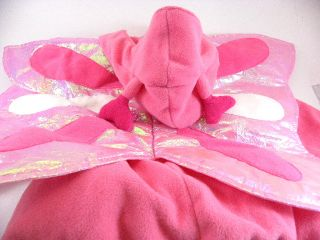 Used Old Navy Pink Butterfly Halloween Costume Infant Toddler Baby 12 24 Size