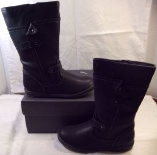 Kenneth Cole Reaction Kids Close Prize 2 Toddler Girls Size 11 5 Black