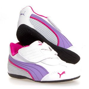 Puma Delor Cat SL V Leather Casual Boy Girls Infant Toddler Baby Shoes