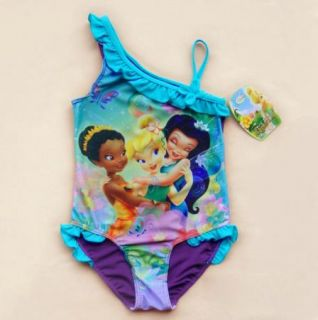 Girls Kids Snow White Cinderella Princess Mermaid Swimsuit Bikini 3 9Y Swimwear