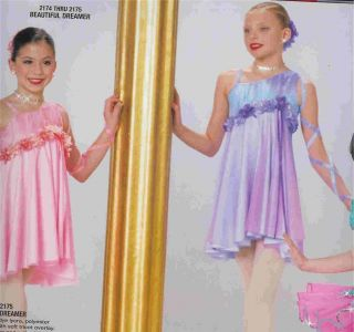 Beautiful Dreamer 2174 Lyrical Ballet Pageant Outfit Competition Dance Costume