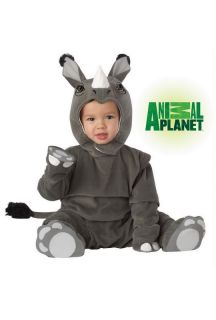 Cute Infant Animal Planet Rhinoceros Halloween Costume 10010