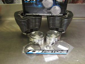 "Harley Davidson Twin Cam Big Bore Kit 96"" to 107"" Using CP Forged Piston Kits"