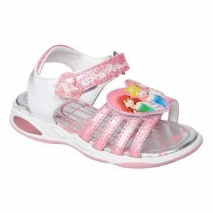 Toddler Girl Disney Princess Ariel Cinderella Velcro Sandals Shoes 9 10 11 12