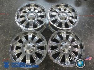 "Four 07 13 Toyota Tundra Sequoia Ultra Motorsports 20"" Chrome Wheels Rims 5x150"