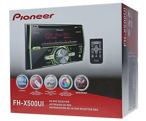 Pioneer FHX500UI 3YR Waranty Car Stereo CD  iPod Player Double DIN Radio