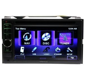 "Kenwood DDX318 6 1"" Double DIN Monitor DVD USB iPod Player Am FM Car Receiver"