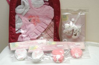 Corolle BEBE Poupee Baby Doll 12 13 inch Socks Shoes Clothes NIP