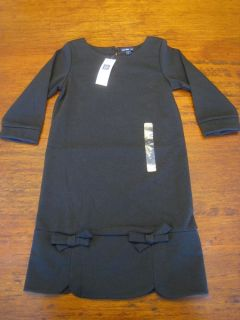 Baby Gap 5T Girls Black Dress