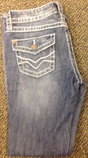 Harley Davidson Womens Low Rise Stretch Boot Cut Blue Jeans 99181 12VW