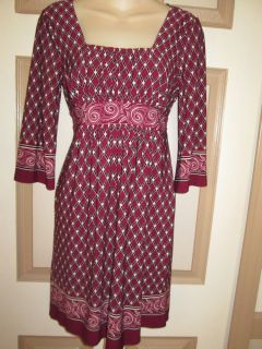Super Cute Sweet Storm Baby Doll Style Dress Wine Red Burgundy Black Sz s Small
