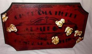 Theater Media Movie Room Theme Comedy Action Plaque Sign Wall Home Decor