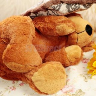 Fantastic Design Sleeping Bear Doll w Pillow Plush Toy Baby Bedtime Story 12 6''