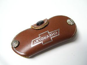 Vintage Leather Key Fob