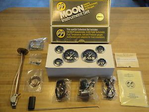 Moon Gauges Commemorative Limited Edition Hot Rod Custom Bonneville 32 Ford