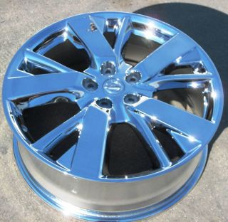 "4 20"" Factory 2013 Nissan Pathfinder Inifiniti JX35 Chrome Wheels Rims 62598"