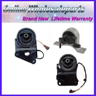 Nissan Altima Murano Quest 3 5L M015 Engine Motor Mounts 3pcs with Solenoid