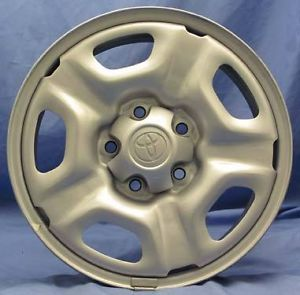 "15""Toyota Tacoma 2012 Steel Wheels 4 Silver Rims"