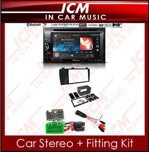 Volvo XC70 V70 Pioneer Car CD DAB Player Double DIN USB  Radio Stereo Kit