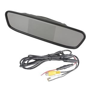 "4 3"" Screen TFT LCD Car Rear View Mirror Monitor for Car Rear View DVR Camera"