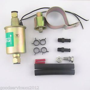 New Replacement Electric Gas Fuel Pump Installation Kit E8012S Universal