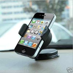 Free 360° Rotate Dash Car Mobile Phone Stand Multifunction iPhone 4S 5 GPS A01