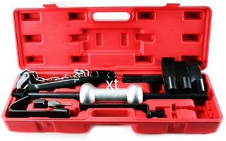 Heavy Duty Dent Puller w 10lbs Slide Hammer Auto Body Truck Repair Tool Kit