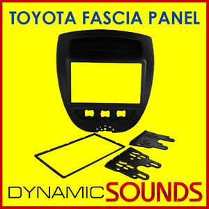 TOYOTA Aygo 2005  Car CD Stereo Double Din Fascia Panel Adaptor CT23TY23