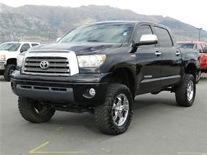 Toyota Tundra Crew Max TRD Off Road Custom Lift Wheels Tires Leather Auto Tow