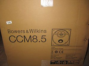 Brand New Bowers and Wilkins CCM 8 5 CI Series Custom Installation Speaker