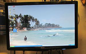 Acer P191W 19 Widescreen LCD Flat Panel LCD TFT Active Matrix LCD Flat Panel LCD TFT Active Matrix Monitor