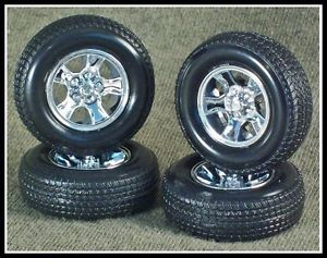 1 24 Scale Model Car Parts Junk Yard 1986 Chevy Monte Carlo SS Tires Wheels