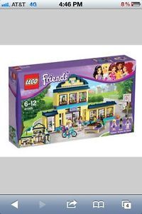 Lego Friends 41005 Heartlake City High School New in Box Factory SEALED PRESALE