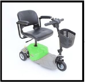 New Mega Motion mm 83 Elite 8 Green Electric 3 Wheel Power Chair Scooter